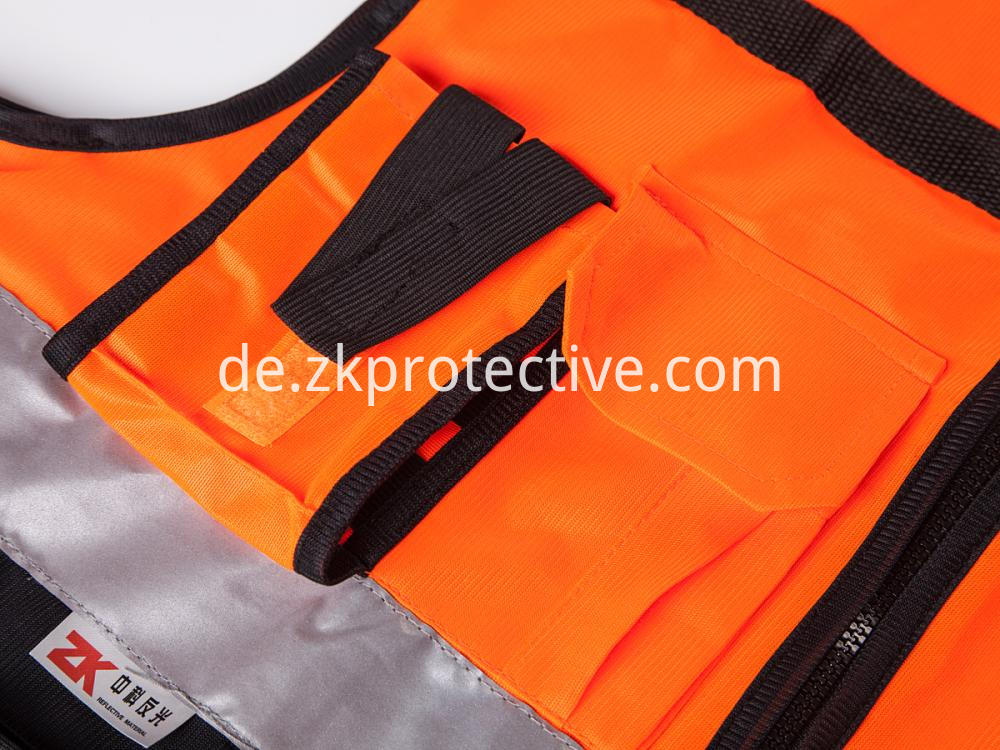 Safety Vest Pockets